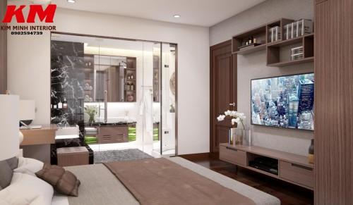 Thiết kế chung cư phòng khách TKTCCCK001