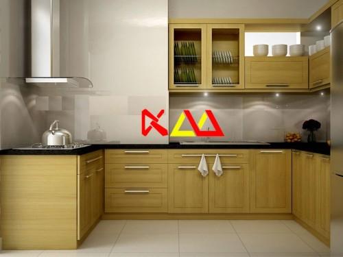 Tủ Bếp Gỗ Sồi TBS021