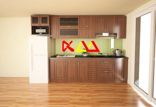 Tủ Bếp Gỗ Xoan Đào TBXĐ001