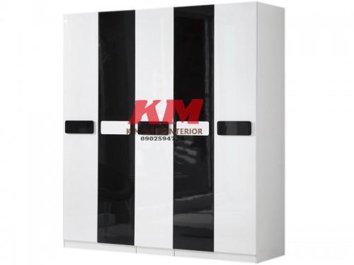 Tủ Quần Áo Acrylic Đóng Theo Yêu Cầu Mẫu 092 (3.700.000/m2)