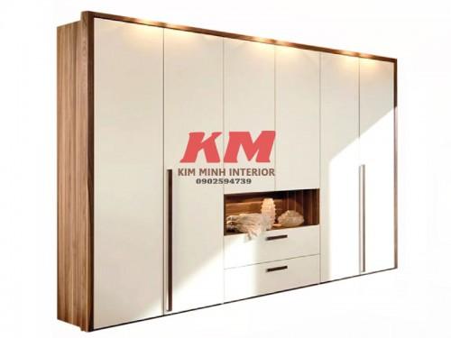 Tủ Quần Áo MDF Big Size Sang Trọng (2.300.000/m2)