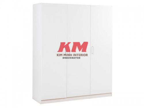 Tủ Quần Áo MFC Màu Trắng (2.300.000/m2)