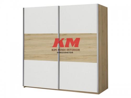Tủ Quần Áo MFC Màu Trắng - vân gỗ (2.300.000/m2)